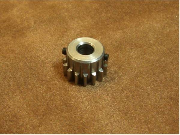 gear modul 1.0 with 15 teeth