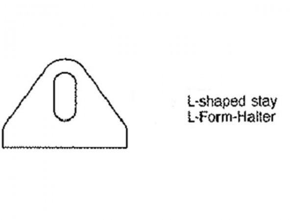 L-Form-Halter
