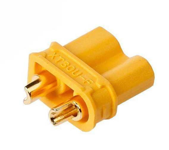 goldplated plug XT30 - female