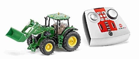 Siku 6777 John Deere 7R with front loader and remote control