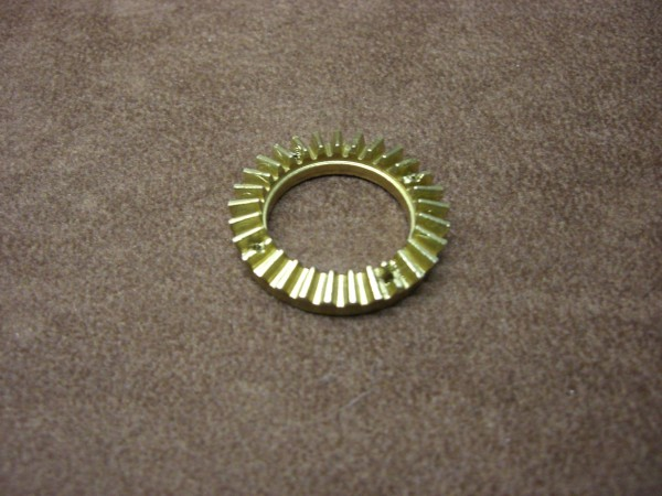 AFV GB-00-103 main gear wheel out of brass for Robbe axles