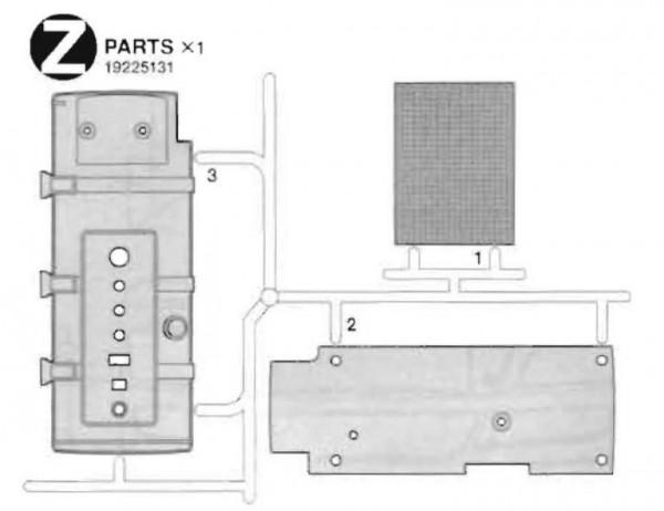 Tamiya 319225131 MAN TGX 18.540 Z-parts