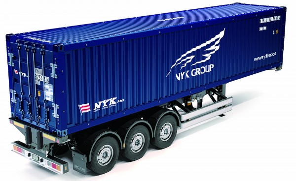 Tamiya 300056330 1:14 RC 40ft. Container Trailer NYK