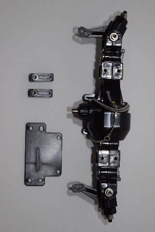 TLT axle with cable lock and CVDs