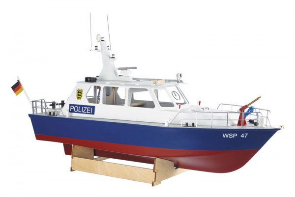 Krick 20360 Polizeiboot WSP47 Bausatz
