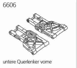 Mali 6606 untere Querlenker vorne