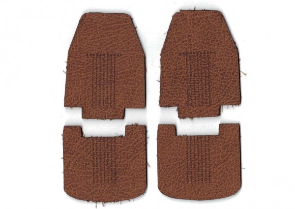 leather seats, brown for Tamiya KingHauler/Globeliner