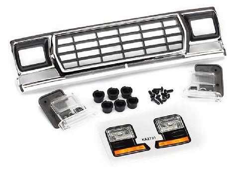 Traxxas 8070 Ford Bronco Grill + Zubehör (für #8010 Karo)