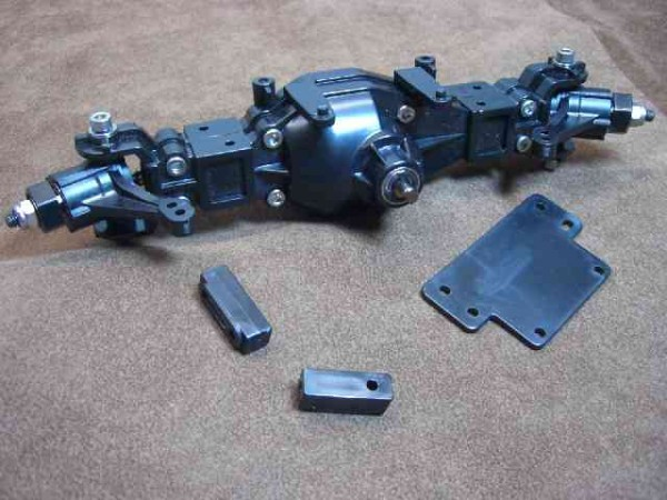 Tamiya TLT axle with steering CVDs