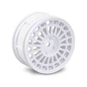 Tamiya 300445250 1:10 rims Lancia Delty HF Integrale white 26mm(2)