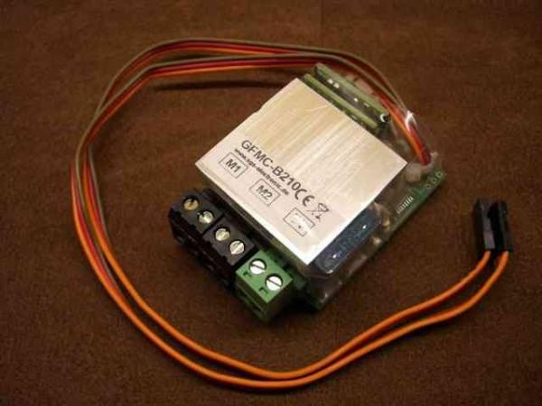 sgs GFMC-B210 crawler speed controller (2x10A)