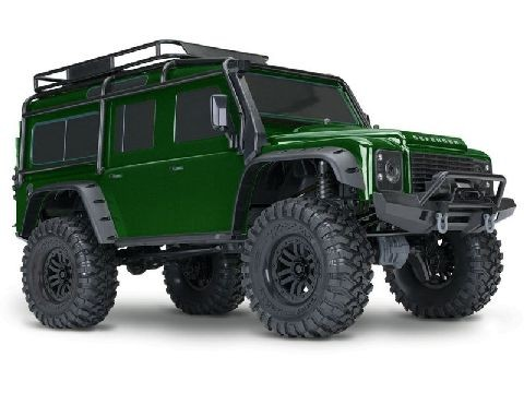 Traxxas 82056-4G TRX4 Scale & Trail Crawler, Forest green LimitedEdition