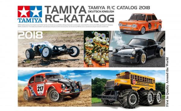 500992018 TAMIYA RC catalog 2018 DE/EN