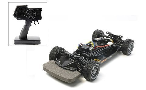 Tamiya 300057984 1:10 RC TT-02 Chassis, factory finished