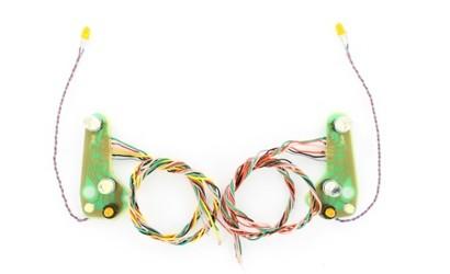 Carson 500907559 Actros headlights board 12 Volt