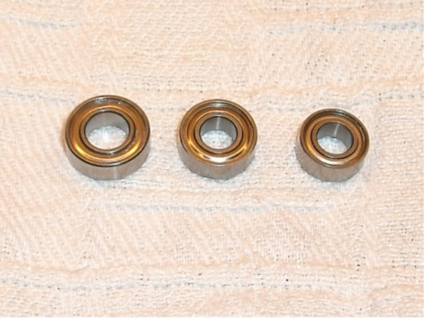 ball bearings 12x6x4 - MR126ZZ