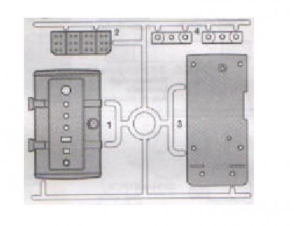 Tamiya 300225183 Scania R620 Z-parts
