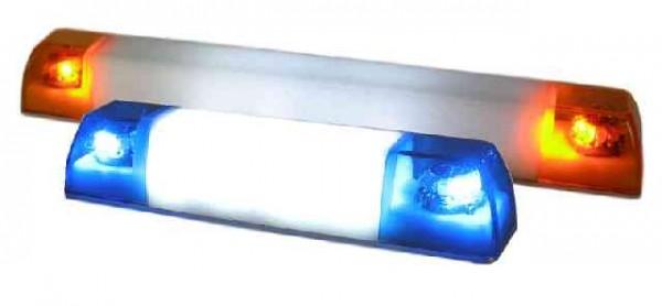 Pistenking RLB16-BK Rotating Beacon Bar (2 Beacons, Short), 1:16, blue