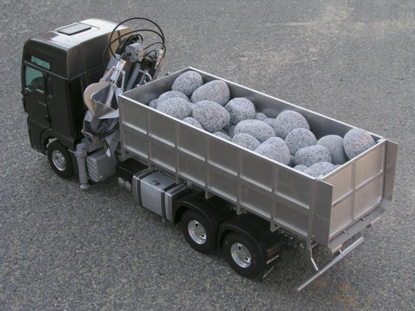 Leimbach 09350N Roll-off tipper kit for Wedico with additional cylinder