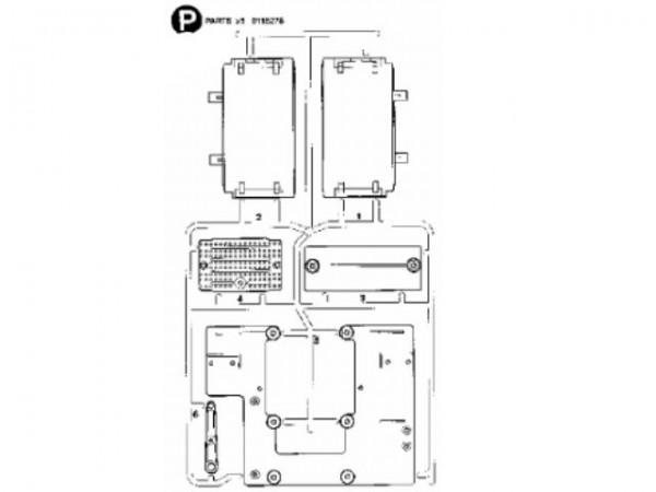 Tamiya 300115278 Volvo (P-Parts)