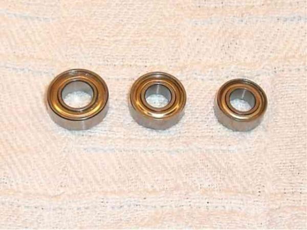 Tamiya 300053497 Ball bearing set TT01 / TT01D / TT02B