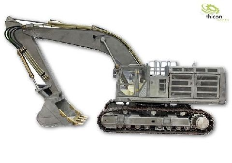 Thicon 58100 1:14 Crawler excavator kit made of stainless steel with hydraulics