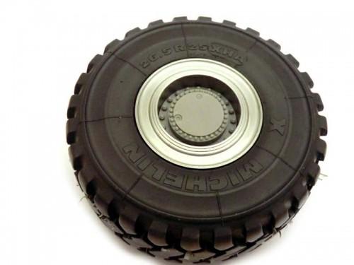 AFV Reifen/Felgeset für Bruder L574 für RB-35-Motoren (2 Stück)