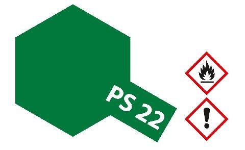 Tamiya 300086022 PS-22 Brit. Racing green Polycarb. 100ml