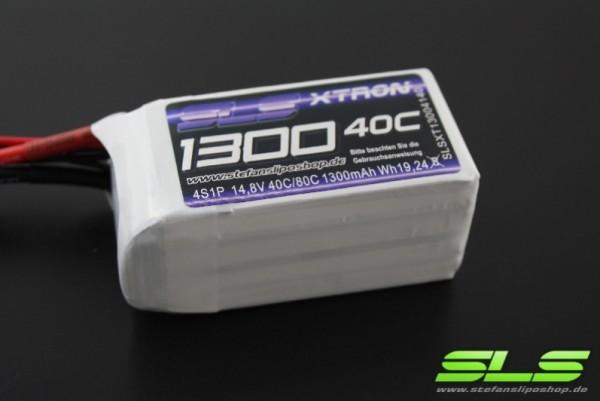 XTRON 1300mAh 4S1P 14,8V 40C/80C