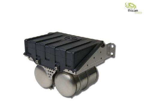 Thicon 50112 1:14 Batteriekasten breit aus V2A für Tamiya LKW ScaleClub