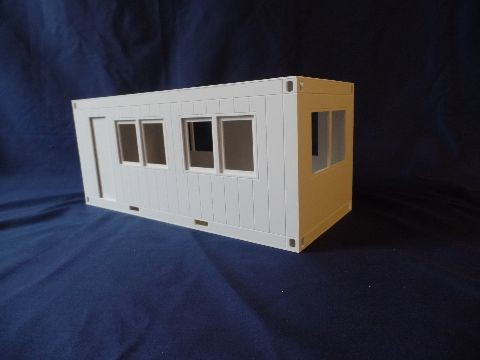 Office container in Tamiya scale, kit