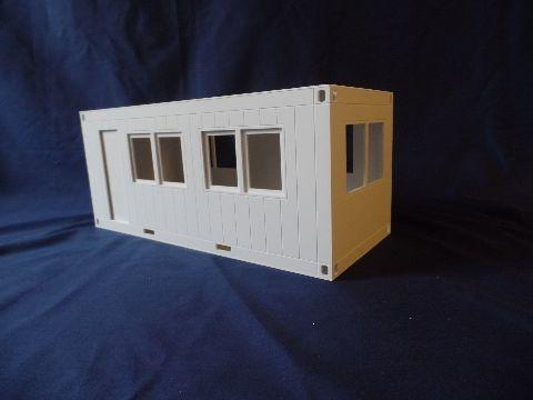 Bürocontainer im Tamiya-Maßstab, Bausatz