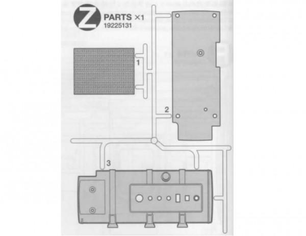 Tamiya 319225131 Tamiya MB-Actros Z-Parts