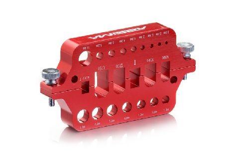 Absima 3000048 Aluminium Löthilfe Rot