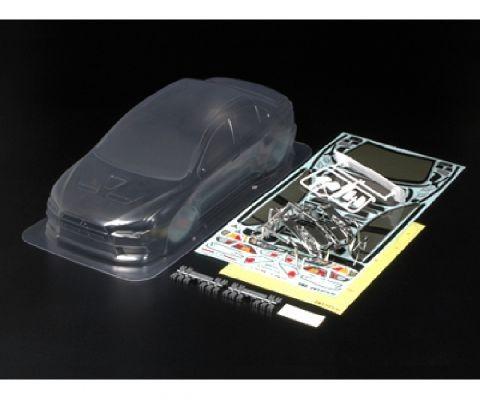 Tamiya 300051376 body set Mitsubishi Lancer Evo X