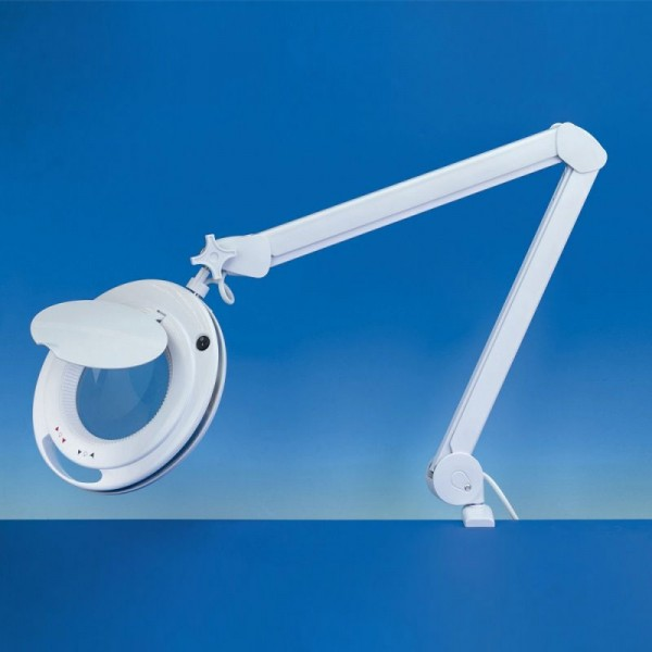 Krick 492209 Lightcraft LED Magnifier Lamp - 3 / 5 Diopter LC9090LED