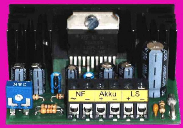 Beier electronic NF-amplifier PV-20W