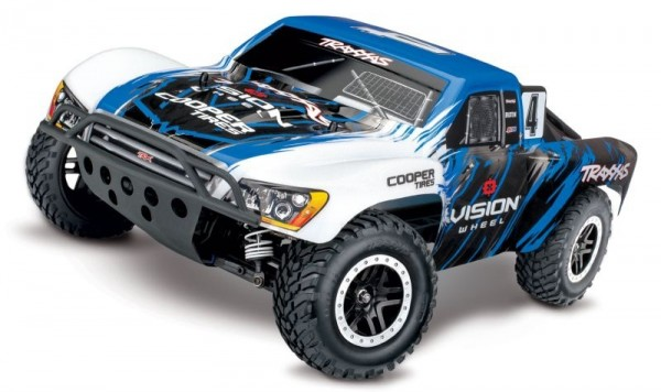 Traxxas 68086-4 Slash 4x4 VXL Vision RTR without battery/charger 1/10 4WD Short-Course-Race-Truck Brushless