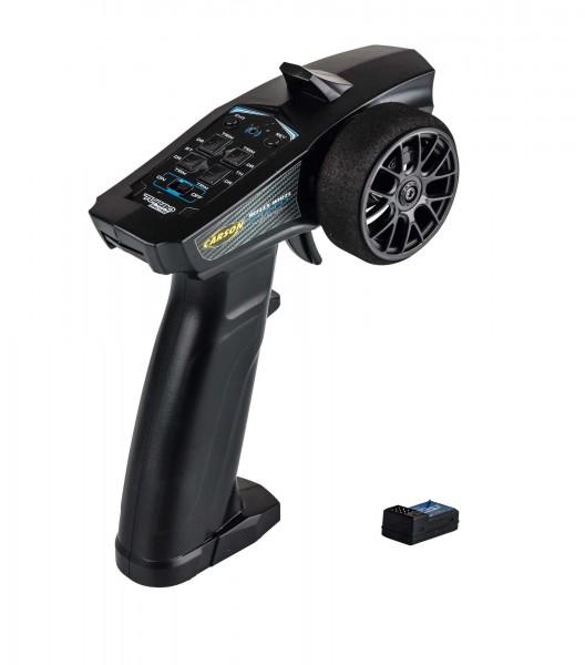 Carson 500500102 Reflex Wheel Start 2.4G radio, black