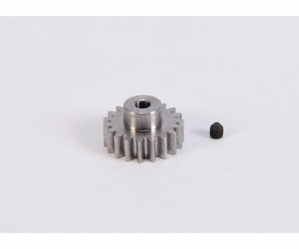 Carson 500013409 Motorritzel Modul 0,8 19Z Stahl