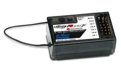 Carson 500501515 Reflex 6-Kanalempfänger 2,4 GHz