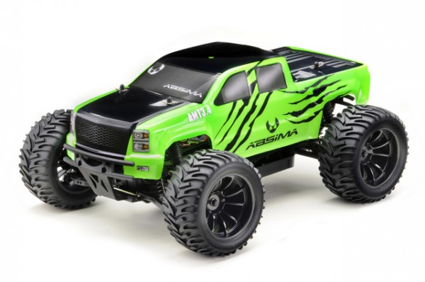 """Absima 12224 1:10 EP Monster Truck """"AMT3.4"""" 4WD RTR"""