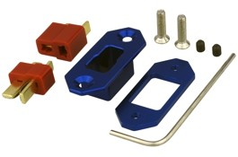 Yuki 600270 Mounting frame - gold connector - with T-plug
