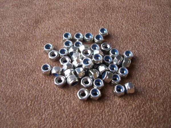 securing hexagon nut M2.5