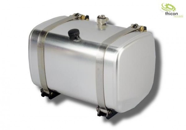Thicon 50035 1:14 Fuel / hydraulic tank with 85 mm tank cage Alu