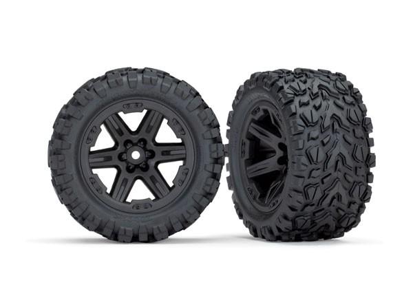 Traxxas 6774 wheels 2.8 (Rustler 4X4) rims black