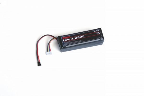 Graupner 3436 transmitter battery quad. LiPo 3/2800 11,1V TX