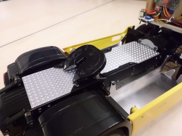 cover for frame for Tamiya 6-wheelers