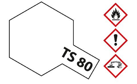 Tamiya 300085080 TS-80 clear coat mat 100ml