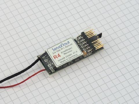 Servonaut Zwo4R4 receiver